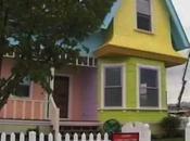 réplique taille réelle maison Là-Haut