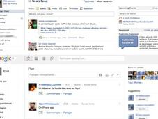 Google+ Facebook place pour deux