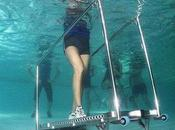 Nouvelle tendance fitness: Tapis roulant sous-marin