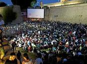 Barcelone cinema l'air libre Montjuic