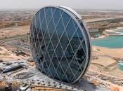 Construction spectaculaire Aldar, Dhabi.