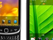 BlackBerry 9810 Torch Touch 9860 approche