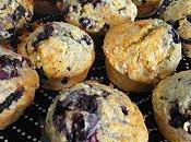 Muffins flocons d'avoine myrtilles