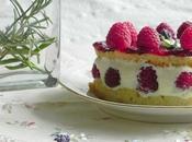 Framboisier lavande (raspberry lavender cake)for Daring Bakers Challenge
