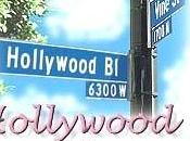 Hollywood boulevard fermé pour cause violence rurale hier...