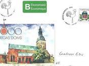 cathédrale Riga oblitération spéciale