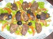 Salade Tiède Abats Volailles