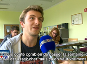 Reportage parlant programme...