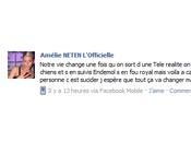 polémique Pour Amélie Neten (SS4) Endemol