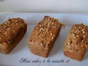 Mini cakes noisette coeur confiture lait