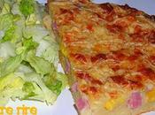 Gâteau salé façon pizza