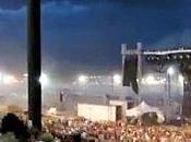 Scène concert s'effondre foule Indianapolis