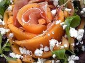 Salade Melon, Jambon Cru, Féta vide frigo