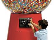 distributeur chewing-gum géant