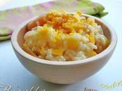Risotto carottes fenouil, cheddar fondu