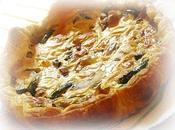 tarte courgettes lardons pour concours MAGGI