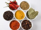 Épices chaudes sont bonnes pour métabolisme corps
