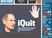 Démission Steve Jobs: premières pages journaux travers monde