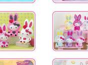 nouveautés Hello kitty Colorful Bunny