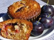 Muffins prunes avoine