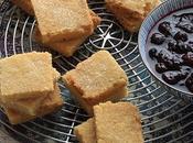 Shortbread compote myrtilles pour accompagner yaourt