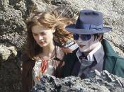 Photo Johnny Depp adopte encore nouveau look pour Burton