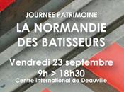 Normandie bâtisseurs Journée patrimoine Deauville septembre