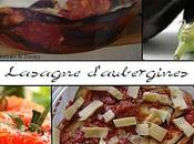 Lasagne d'aubergines