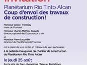 Planétarium arrive Stade Olympique
