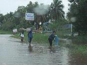 septembre 2011: Udonthani, innondations Nong Rong.