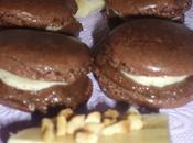 Macarons surprise chocolat banane
