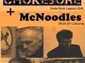 Chokebore McNoodles concert avec billetterie libre service Weezevent.