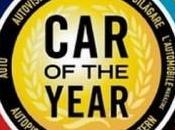 Election voiture l'année 2012 candidates