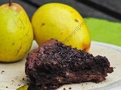 Gâteau poires chocolat Pear Chocolate Cake
