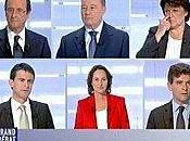 Deuxième débat pour primaire convergences Valls-Bayrou Montebourg