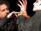 Photo Burton Johnny Depp tournage Dark Shadows