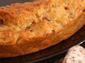 Cake saucisson noix