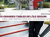 grandes tables l'île Seguin graine architecturale éphémère