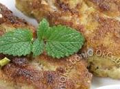 Côtelettes d'agneau panées pesto menthe pistache