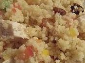 Taboulé poulet curry