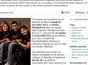 """Venez skier solidaire avec """"Montgenèvre ELA... Vous?"""" acteurs Plus belle"""