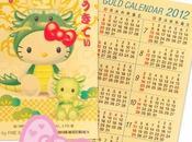 2012 l'année dragon version Hello Kitty