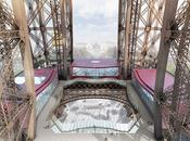Changement look pour étage Tour Eiffel