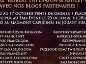 Liste complète blogs proposant concours pour Event Paris avec Robert Pattinson Ashley Greene