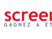 Création nom,création marque.Après marque,l'agence Nouveau sens créee signature SCREENFIZZ.
