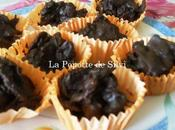 roses sables chocolat noir
