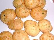 gougères parmesan basilic
