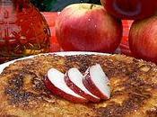 Pancakes pommes l'avoine