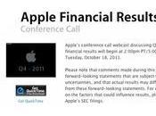 Apple +39% nouveau record pour résultats fiscaux Q4-2011
