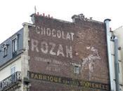 Publicité murale chocolat Rozan